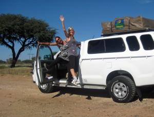 Reis comfortabel per 4x4 door Namibië met kinderen
